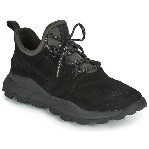 Skor Herr Sneakers Timberland BROOKLYN LACE OXFORD Svart