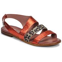 Skor Dam Sandaler Mjus CHAT BUCKLE Röd / Leopard