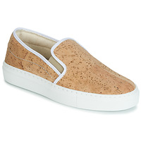 Skor Dam Slip-on-skor Dream in Green JAKAMORI Beige
