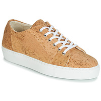 Skor Dam Sneakers Dream in Green JAKANIS Beige
