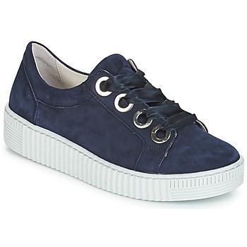 Skor Dam Sneakers Gabor POMPON Marin