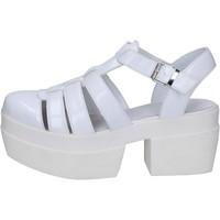 Skor Dam Sandaler Cult sandali bianco pelle BT539 Bianco