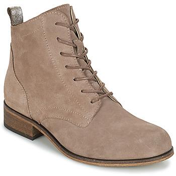Skor Dam Boots André GODILLOT Mullvadsfärgad