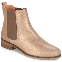 Skor Dam Boots André CHATELAIN Guldfärgad