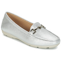 Skor Dam Loafers André CABRIOLE Silver