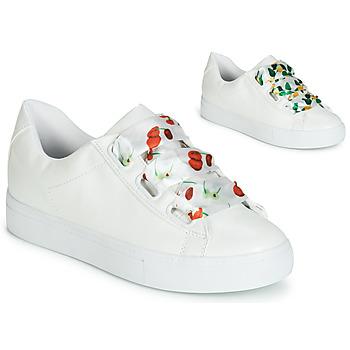 Skor Dam Sneakers André SOLANGE Vit