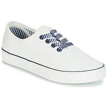 Skor Dam Sneakers André STEAMER Vit
