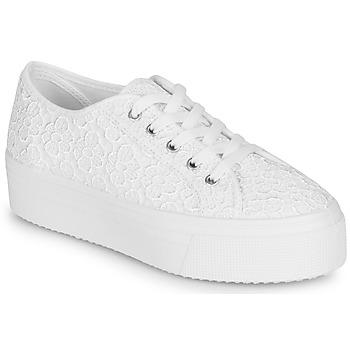 Skor Dam Sneakers André SODA Vit