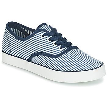 Skor Dam Sneakers André STEAMER Blå / Vit