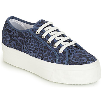 Skor Dam Sneakers André SODA Blå