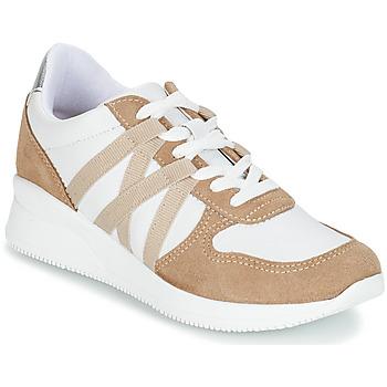 Skor Dam Sneakers André ALLURE Beige