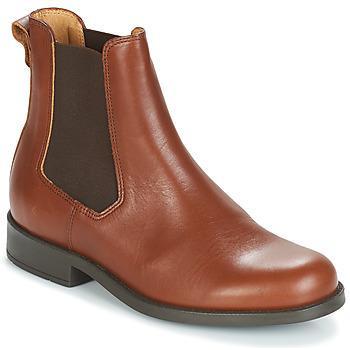 Skor Dam Boots Aigle ORZAC W 2 Cognac