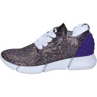 Skor Dam Sneakers Elena Iachi sneakers multicolor glitter BT587 Multicolore
