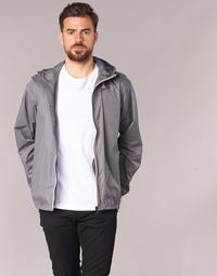 textil Vår/höstjackor K-Way LE VRAI CLAUDE 3.0 Grå