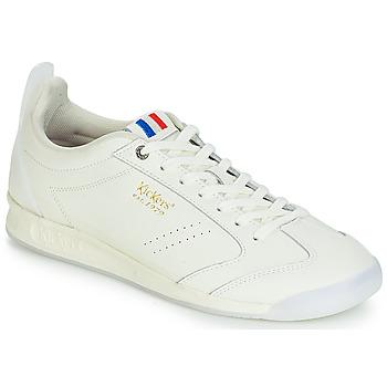 Skor Herr Sneakers Kickers KICK 18 Vit
