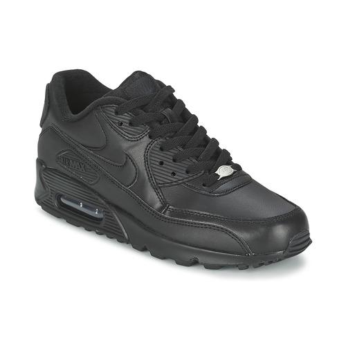 91e1c9ec83f Nike AIR MAX 90 Svart - Fri frakt | Spartoo.se ! - Skor Sneakers ...