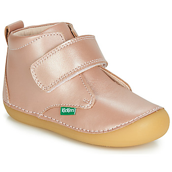 Skor Pojkar Boots Kickers SABIO Rosa