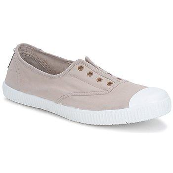 Skor Dam Sneakers Victoria 6623 Beige
