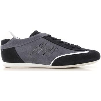 Skor Herr Sneakers Hogan HXM0520G752I70697U blu