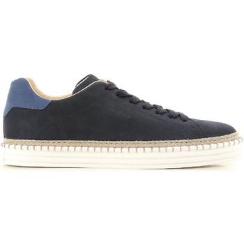 Skor Herr Sneakers Hogan HXM2600AD506RN669E blu
