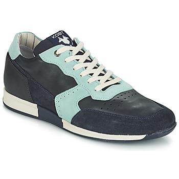 Skor Herr Sneakers Kost HOOPAR Blå