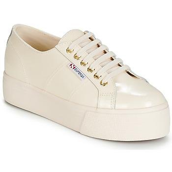 Skor Dam Sneakers Superga 2790 LEAPATENT Benvit