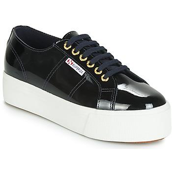 Skor Dam Sneakers Superga 2790 LEAPATENT Marin