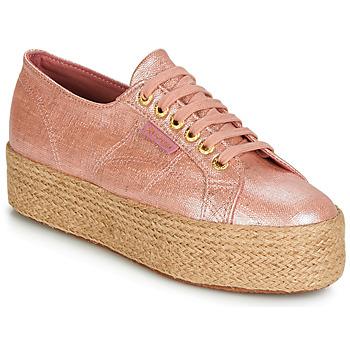 Skor Dam Sneakers Superga 2790 LINRBRROPE Rosa