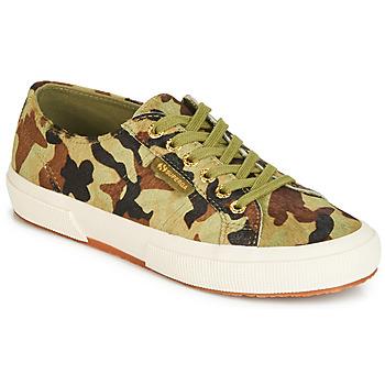Skor Sneakers Superga 2750 LEAHORSE Kamouflage