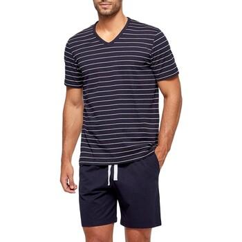 textil Herr Pyjamas/nattlinne Impetus GO63024 039 Blå