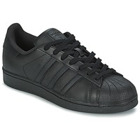 Skor Herr Sneakers adidas Originals SUPERSTAR FOUNDATION Svart