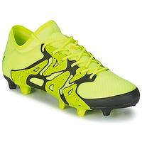 Skor Herr Fotbollsskor adidas Performance X 15.1 FG/AG Gul