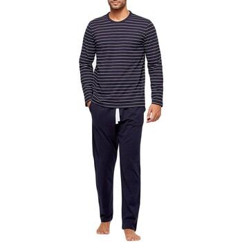 textil Herr Pyjamas/nattlinne Impetus GO61024 039 Blå
