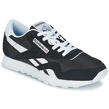 Skor Herr Sneakers Reebok Classic CL NYLON Svart / Vit