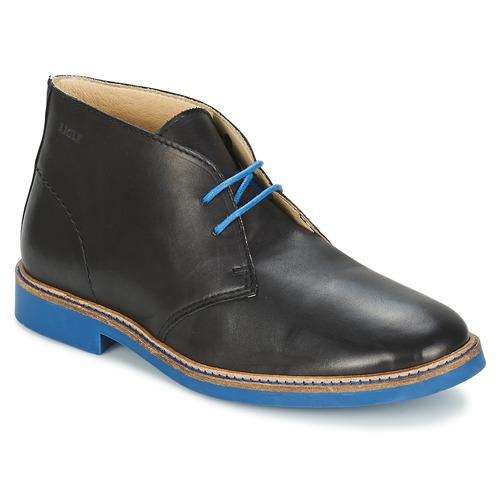Skor Herr Boots Aigle DIXON MID 3 Svart
