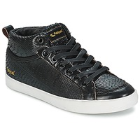 Skor Dam Höga sneakers Feiyue DELTA MID DRAGON Svart