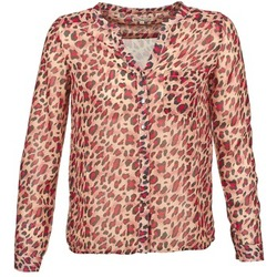 textil Dam Långärmade skjortor Best Mountain AZARI Beige / Röd