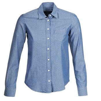 textil Dam Skjortor / Blusar Gant EXUNIDE Blå