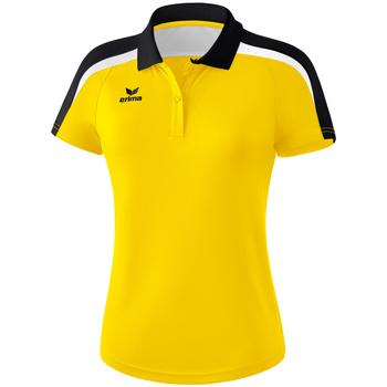 textil Dam Kortärmade pikétröjor Erima Polo femme  Liga 2.0 jaune/noir/blanc