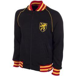 textil Herr Sweatshirts Copa Football Sweat zippé Belgique 1960's noir/jaune/rouge