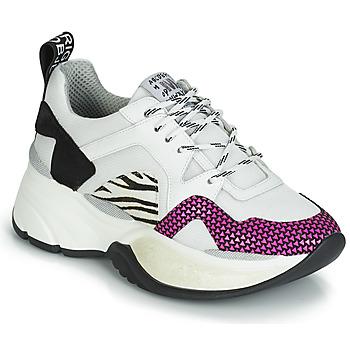 Skor Dam Sneakers Meline ARGAGALI Vit / Svart