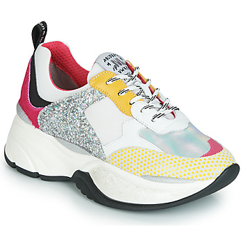 Skor Dam Sneakers Meline PUNKY DADDY Vit / Rosa