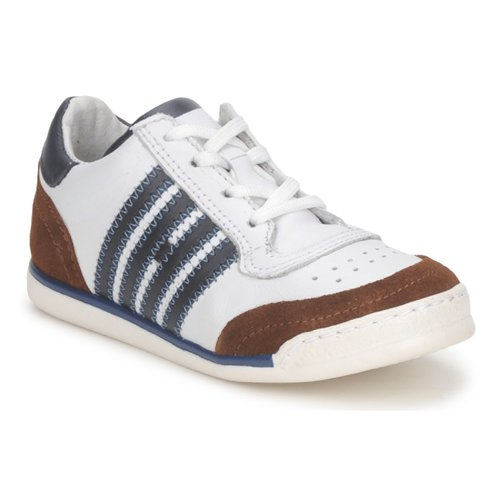 Skor Barn Sneakers Hip ARCHIK Vit / Brun