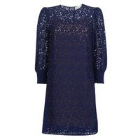 textil Dam Korta klänningar MICHAEL Michael Kors BLOUSON SLV LACE DRS Marin