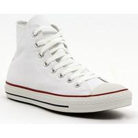 Skor Herr Höga sneakers Converse ALL STAR HI  OPTICAL WHITE Multicolore