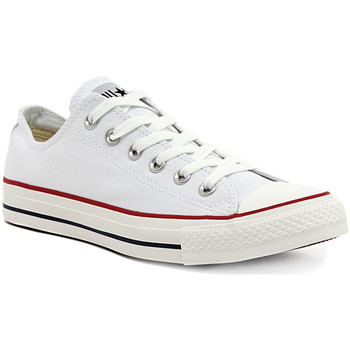 Skor Flickor Sneakers Converse ALL STAR OPTICAL WHITE OX Multicolore