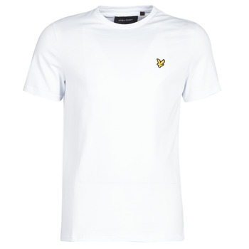 textil Herr T-shirts Lyle & Scott FAFARLITE Vit