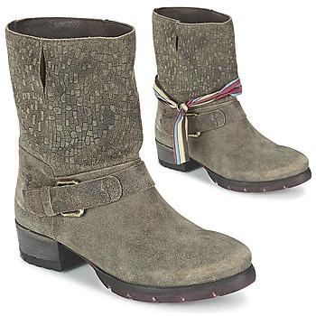 Skor Dam Boots Felmini RARSA Brun