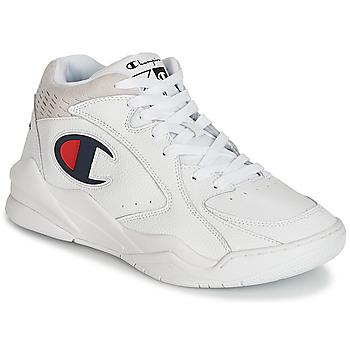 Skor Herr Höga sneakers Champion ZONE MID Vit