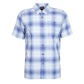 textil Herr Kortärmade skjortor Patagonia A/C Shirt Blå